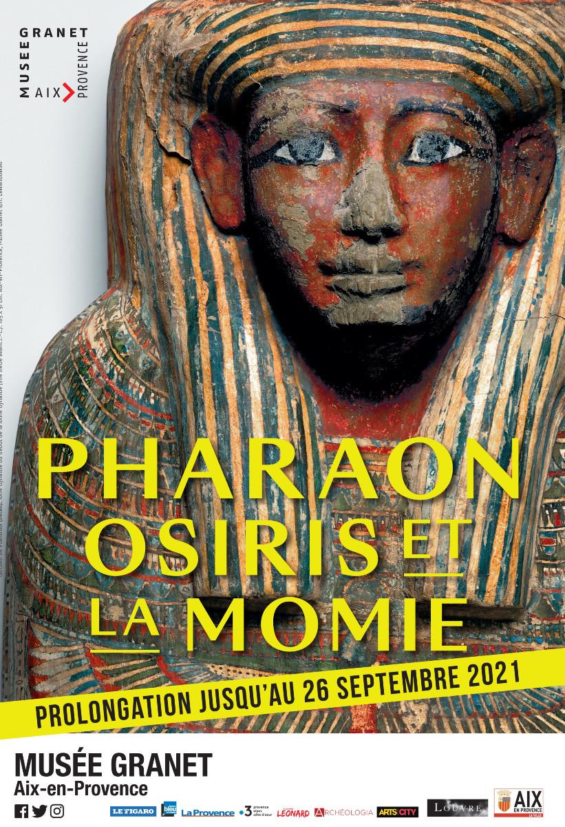 PHARAON, OSIRIS ET LA MOMIE sur le site d'ARTactif