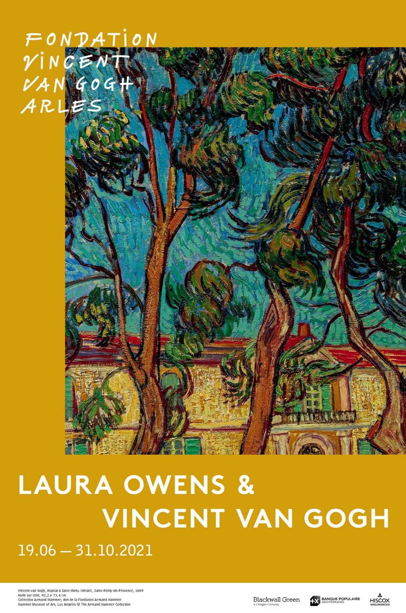 Laura Owens & Vincent van Gogh sur le site d'ARTactif