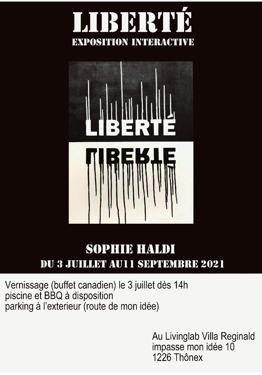 Liberté sur le site d'ARTactif