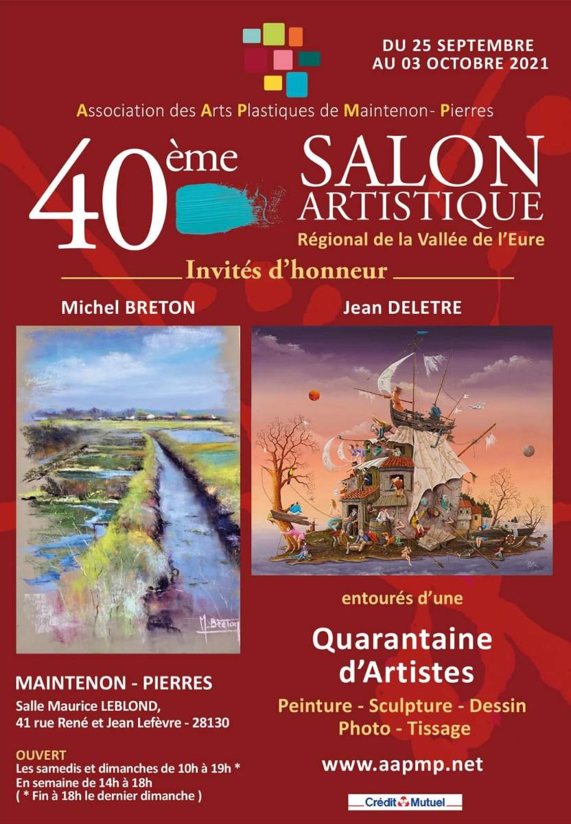 40ÈME SALON ARTISTIQUE RÉGIONAL DE LA VALLÉE DE L'EURE sur le site d'ARTactif