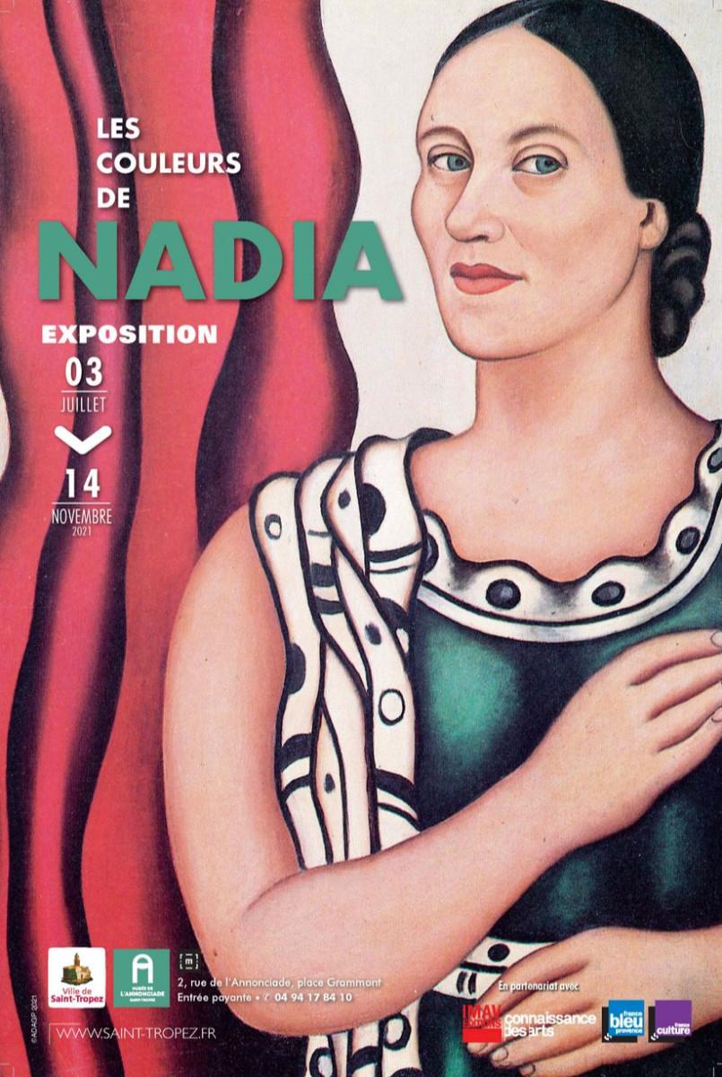 Les couleurs de Nadia sur le site d'ARTactif