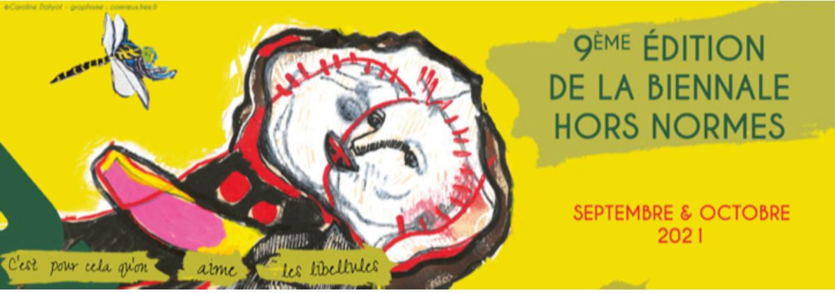 9° Biennale Hors Normes sur le site d'ARTactif