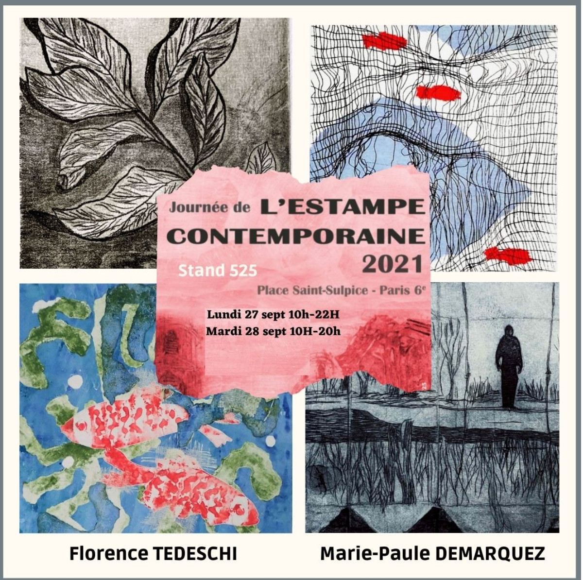 Journée de l'estampe contemporaine sur le site d'ARTactif