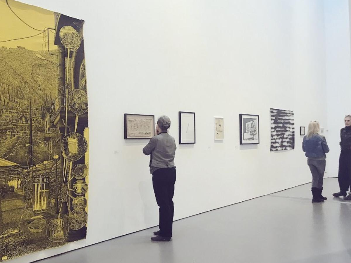 Trinty Buoy Wharf Drawing Prize 2021 - London UK sur le site d'ARTactif