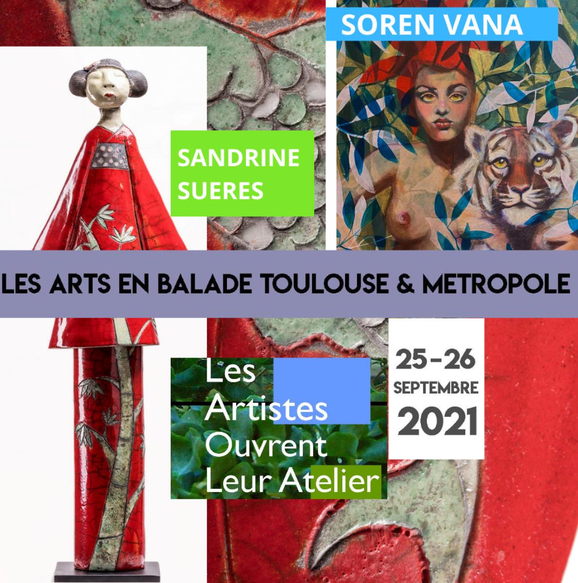 Arts en balade 2021 sur le site d'ARTactif