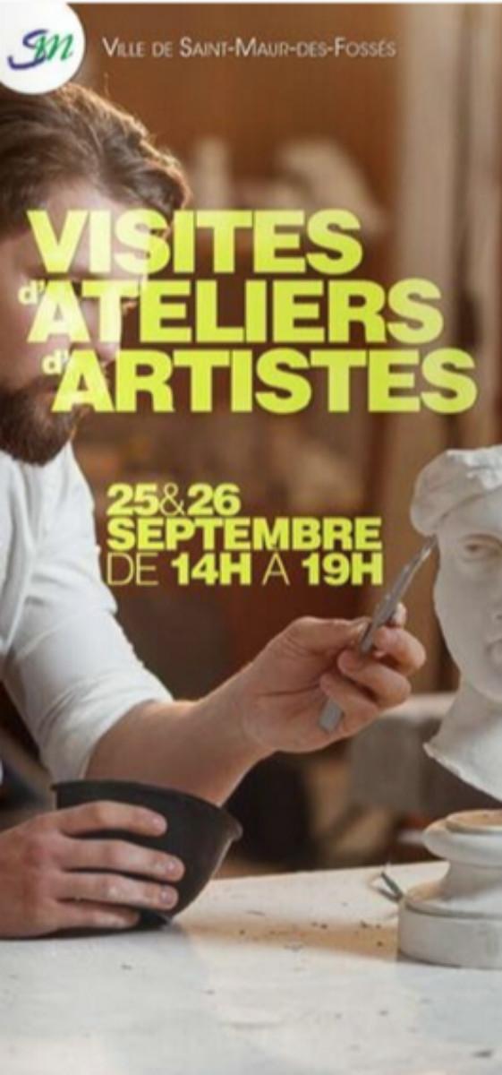 VISITES D'ATELIERS D'ARTISTES A SAINT-MAUR 94 sur le site d'ARTactif