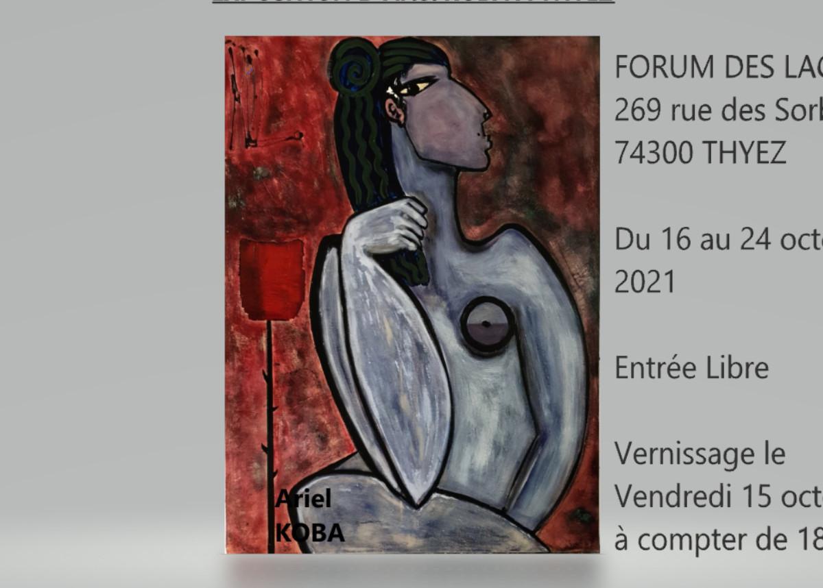 EXPO Ariel KOBA sur le site d'ARTactif