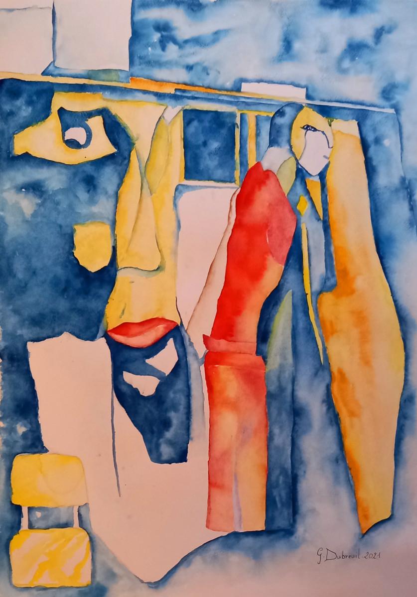 EXPO PERSO GERARD DUBREUIL sur le site d'ARTactif