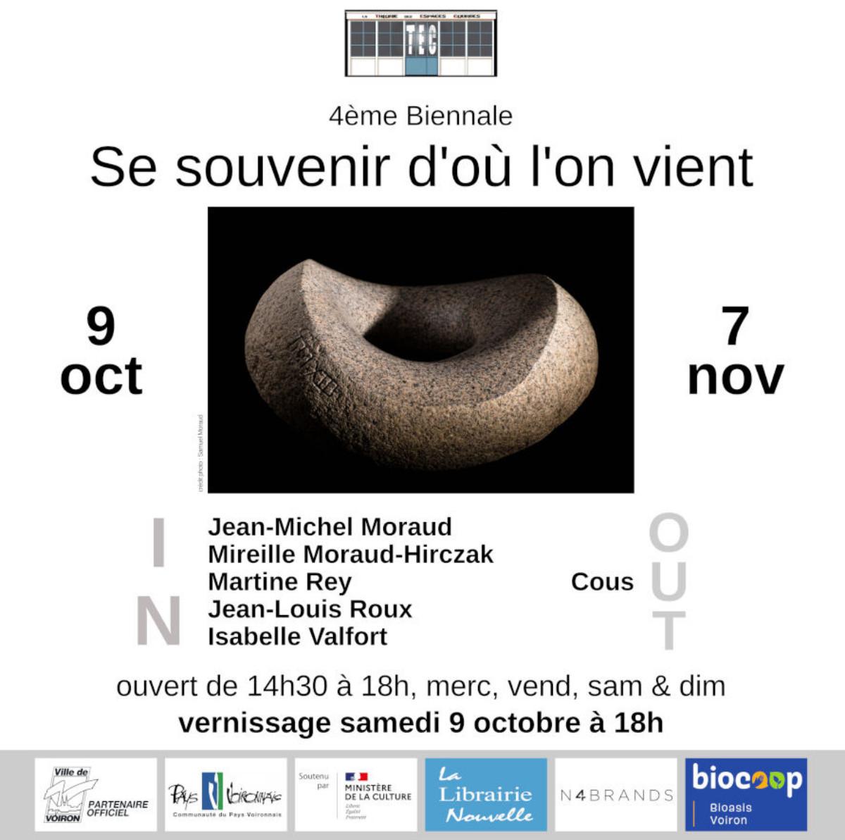 """4ème Biennale """"Se souvenir d'où l'on vient"""" sur le site d'ARTactif"""