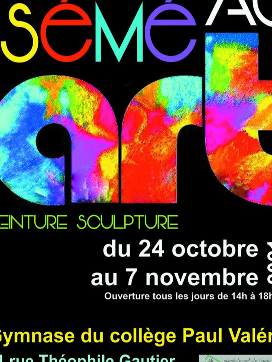 """Josabel 451 au Salon """"Séméac Art"""" sur le site d'ARTactif"""