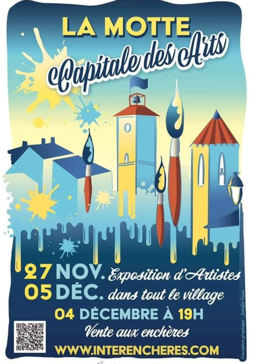 LA MOTTE CAPITALE DES ARTS sur le site d'ARTactif