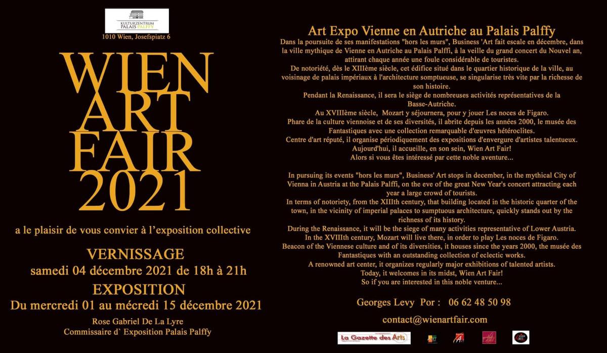 WIEN ART FAIR 2021 sur le site d'ARTactif