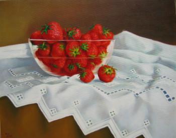 napperon aux fraises sur le site d'ARTactif