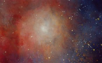 Celestial Fireworks (detail) sur le site d'ARTactif