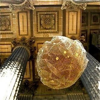 Sphère Céleste à la Madeleine sur le site d'ARTactif