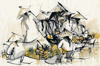 Les belles du bord du Mékong... sur le site d'ARTactif