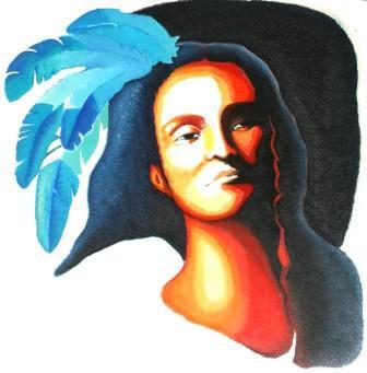 INDIEN BLEU sur le site d'ARTactif