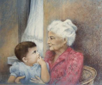Michel et grand-mère sur le site d'ARTactif