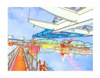 Ecran pont urbain Warhol sur le site d'ARTactif