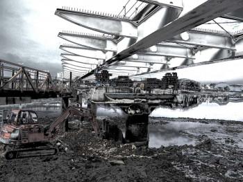 Scorffbridge once Pont des indes sur le site d'ARTactif