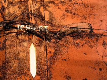 Tableau photographique de bateaux, abstraction lyrique,  Valleta 0908 - 0577 sur le site d'ARTactif