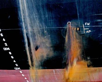 Tableau photographique bateau, abstraction lyrique,  de Sea Lantana sur le site d'ARTactif