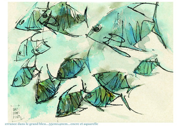 errance dans le grand bleu sur le site d'ARTactif