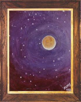 Eclipse de lune 1982 sur le site d'ARTactif