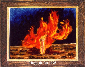 Magie du feu 1995 sur le site d'ARTactif