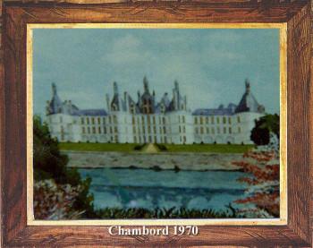 Chateau de Chambord 1970 sur le site d'ARTactif
