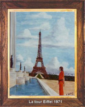 La Tour Eiffel 1970 sur le site d'ARTactif