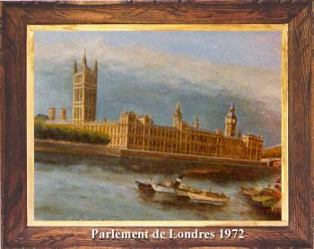 Le Parlement de Londres 1972 sur le site d'ARTactif