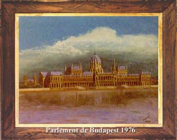 Le Parlement de Budapest 1976 sur le site d'ARTactif