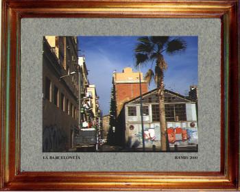 Catalogne sud, La Barceloneta 2000 sur le site d'ARTactif