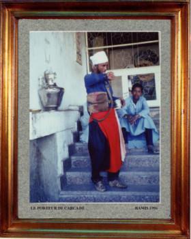 Egypte, le vendeur de cascadé, 1996 sur le site d'ARTactif