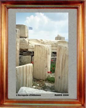 Grèce, l'Acropole d'Athènes 2006 sur le site d'ARTactif