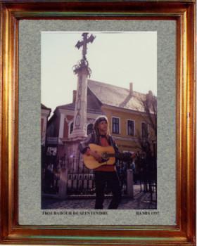 Hongrie, troubadour à Szentendre 1997 sur le site d'ARTactif