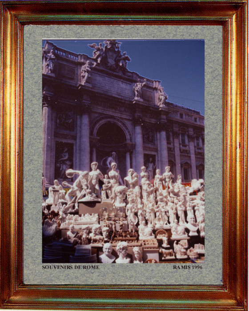 Italie, souvenirs de Rome 1994 sur le site d'ARTactif