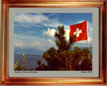 Suisse, Le lac de Genéve 1978 sur le site d'ARTactif