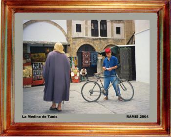 Tunise, dans la médina de Tunis 2004 sur le site d'ARTactif