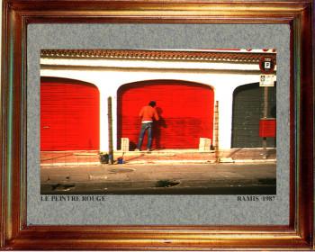 Baléares, les portes rouges 1987 sur le site d'ARTactif