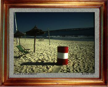 Baleares, une plage de Majorque 1987 sur le site d'ARTactif