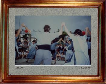 Catalogne sud, la sardana 1997 sur le site d'ARTactif