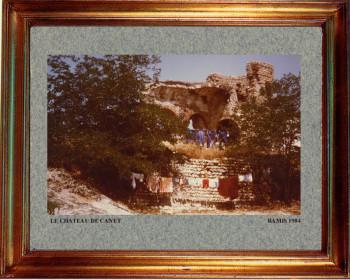 Catalogne nord, chateau de Canet 1984 sur le site d'ARTactif