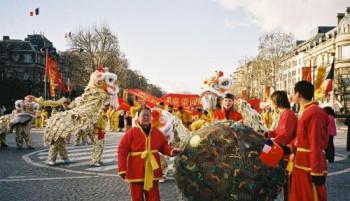 Sphère de la Prospérité,l'Année de la Chine 2004,Champs Elysées,Paris sur le site d'ARTactif