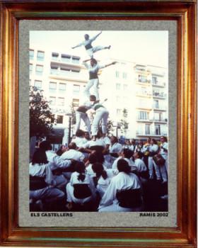 Catalogne nord, els Castellers 2001 sur le site d'ARTactif