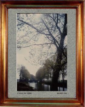 France, le canal du midi 1981 sur le site d'ARTactif