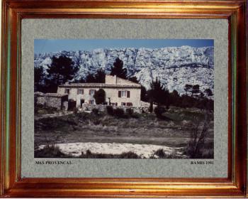 France, mas provençal  1981 sur le site d'ARTactif