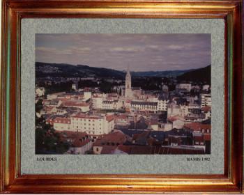 France, Lourdes 1982 sur le site d'ARTactif
