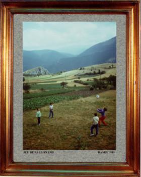 France, jeux de ballon 1989 sur le site d'ARTactif